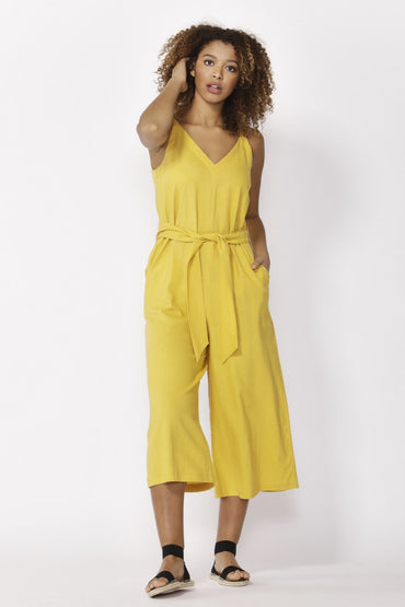 Betty Basics Hendrick Jumpsuit in Sunflower - Hey Sara