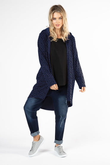 Betty Basics Jaden Hoodie in Hunter - Hey Sara