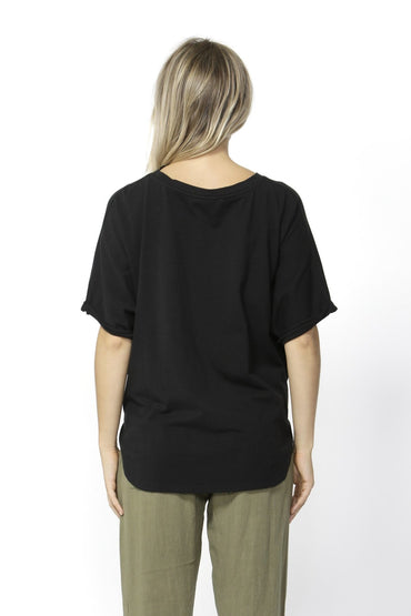 Betty Basics Katie Knot Top in Black Size 6 or 8 - Hey Sara
