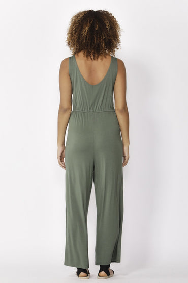 Betty Basics Kavala Jumpsuit in Olive - Hey Sara