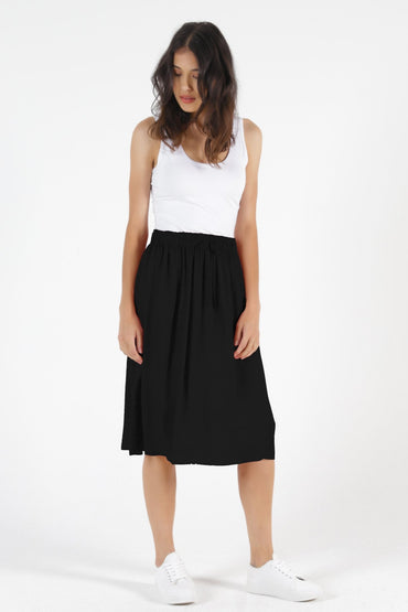 Betty Basics Landon Skirt in Black - Hey Sara