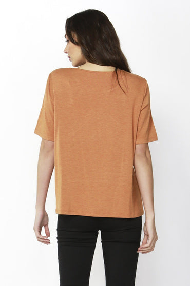 Betty Basics Los Angeles Tee in Spice Marle - Hey Sara