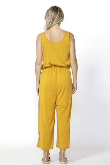 Betty Basics Maldives Jumpsuit in Mango - Hey Sara