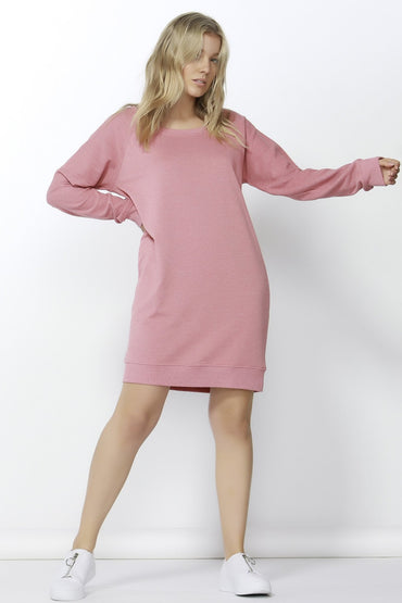 Betty Basics Nico Sweater Dress in Rose Pink Size 6 or 8 - Hey Sara