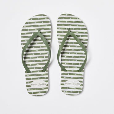Betty Basics Nomad Thongs in Forest - Hey Sara