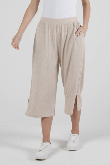 Betty Basics Palos Crop Pant in Gardenia - Hey Sara