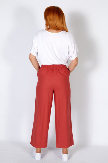 Betty Basics Parker Pant in Berry - Hey Sara