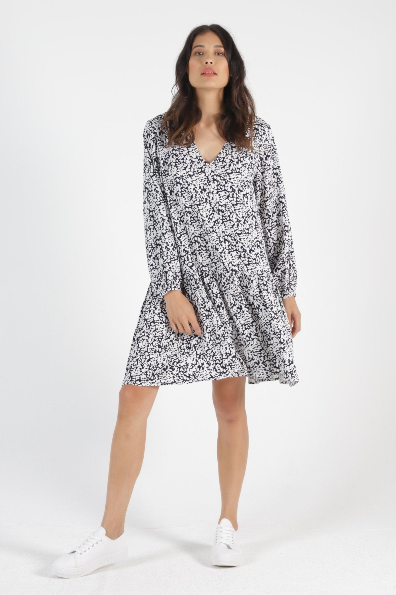 Betty Basics Rory Midi Dress in Ink Blot - Hey Sara