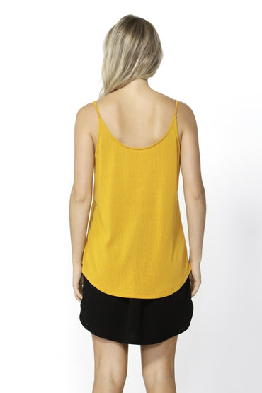 Betty Basics San Diego Two Way Cami in Mango - Hey Sara