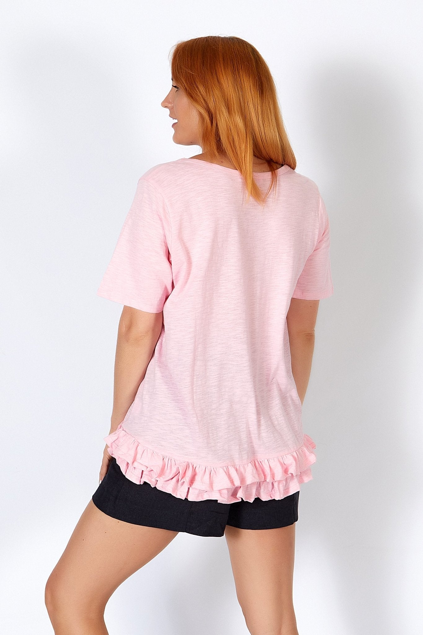 Betty Basics Sorrento Tee in Ballet Pink - Hey Sara