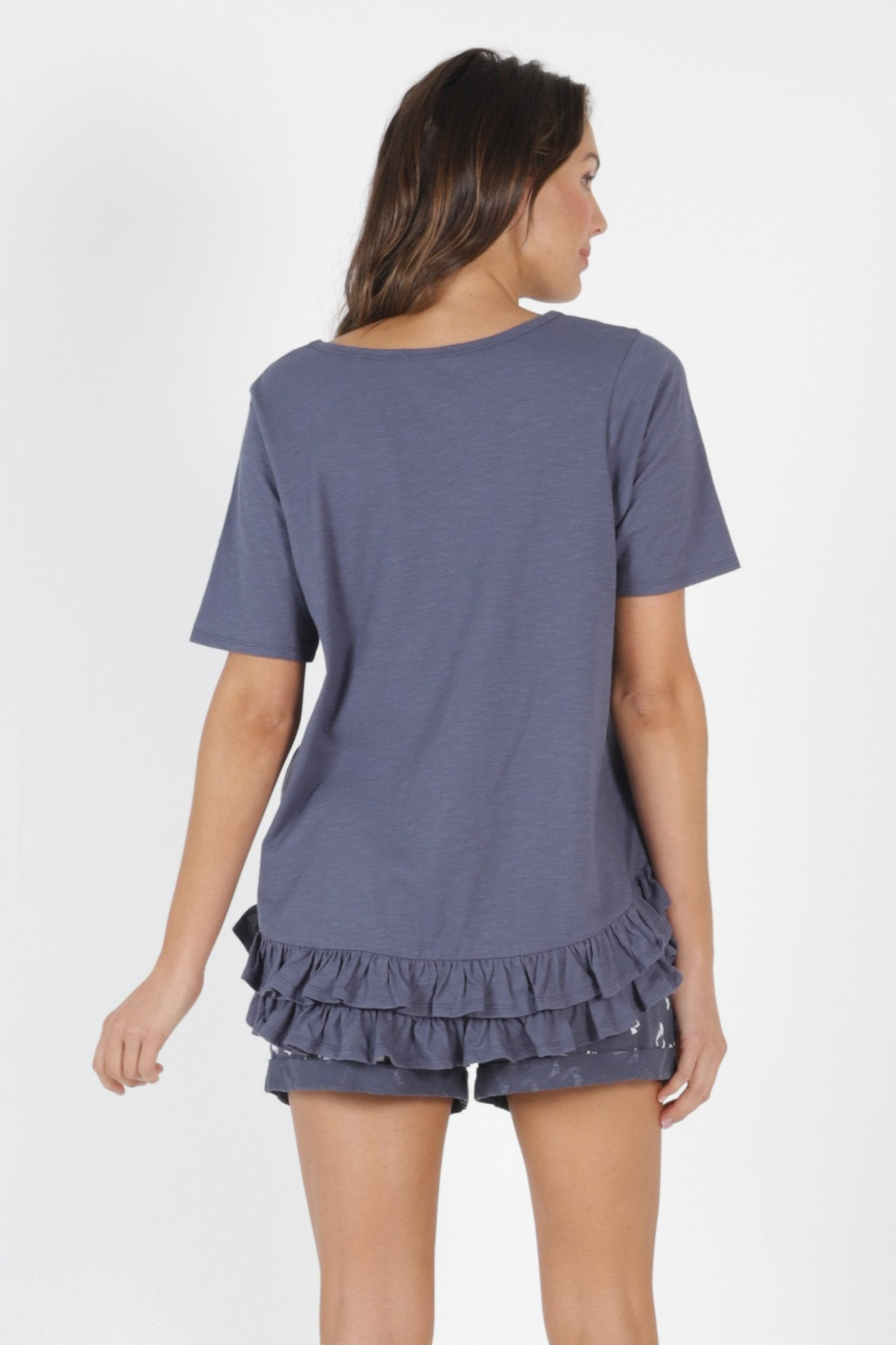 Betty Basics Sorrento Tee in Indi Blue - Hey Sara