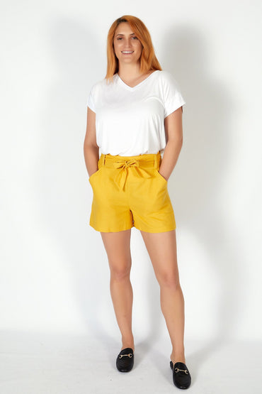 Betty Basics Tyler Short in Sunflower - Hey Sara