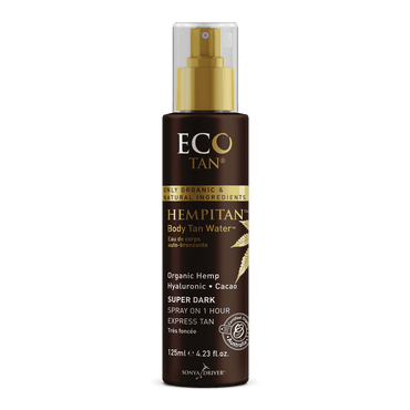 Eco Tan - Hempitan™ Body Tan Water 125ml - Hey Sara