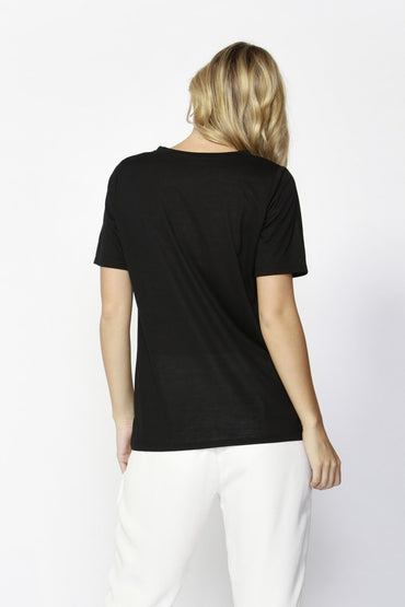 Fate + Becker Love Each Other Tee in Black - Hey Sara