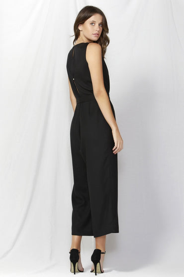 Fate + Becker Madison Jumpsuit in Black - Hey Sara
