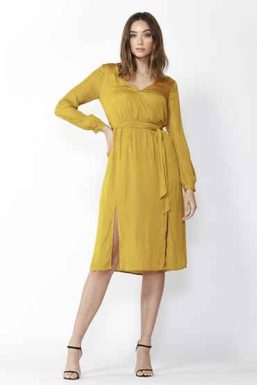 Fate + Becker On The Run Dress in Amber - Hey Sara