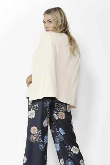 Fate + Becker Uptown Cape Blazer in Soft Pink - Hey Sara