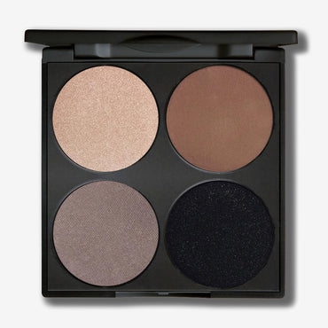 Gorgeous 4 Pan Eyeshadow Palette - Noir Smokey Eyes - Hey Sara