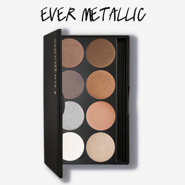 Gorgeous 8 Pan Eyeshadow Palette - Ever Metallic - Hey Sara