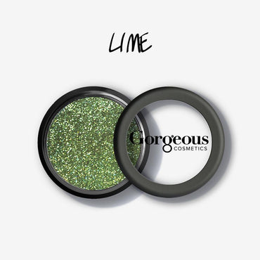 Gorgeous Eye Glitter - Lime Colour Flash - Hey Sara
