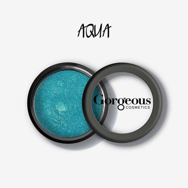 Gorgeous Shimmer Dust - Aqua Loose Eye Dust - Hey Sara