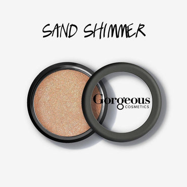 Gorgeous Shimmer Dust - Sand Loose Eye Dust - Hey Sara