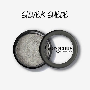 Gorgeous Shimmer Dust - Silver Suede Loose Eye Dust - Hey Sara