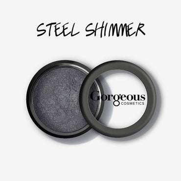 Gorgeous Shimmer Dust - Steel Loose Eye Dust - Hey Sara