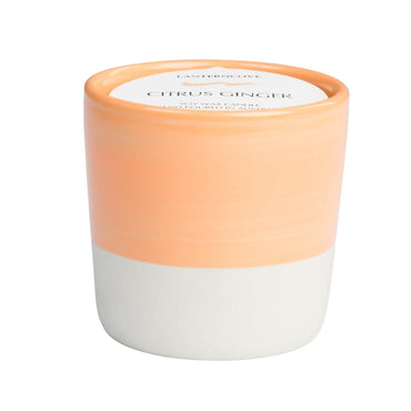 Lantern Cove Brush Stroke Citrus Ginger 3oz Candle - Hey Sara