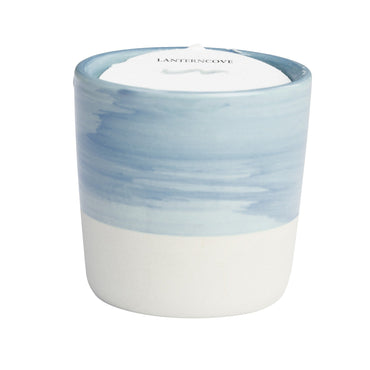 Lantern Cove Brush Strokes Blueberry 3oz Candle - Hey Sara