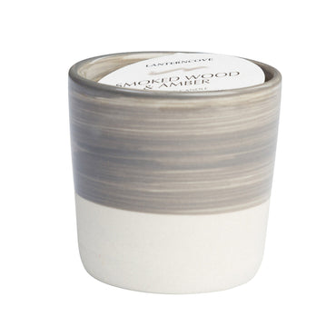 Lantern Cove Brush Strokes Tobacco and Patchouli 3oz Candle - Hey Sara