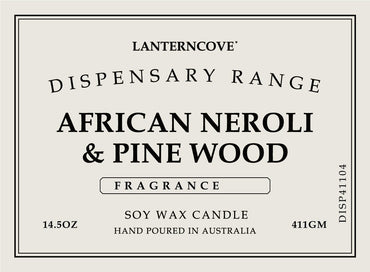 Lantern Cove Dispensary African Neroli and Pinewood 14.5oz Candle - Hey Sara