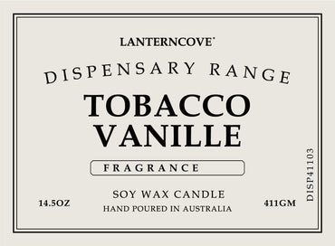 Lantern Cove Dispensary Tobacco and Vanilla 14.5oz Candle aka Harry Styles - Hey Sara