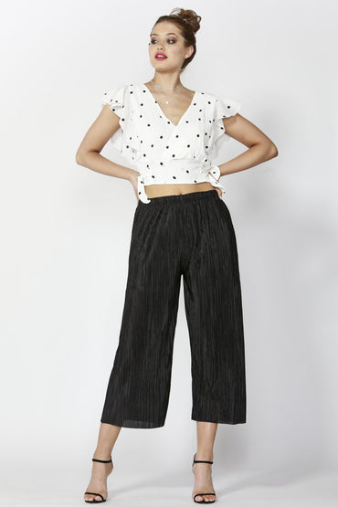 Sass Dazzling Pleated Pants in Black Size 8 or 12 ONLY - Hey Sara