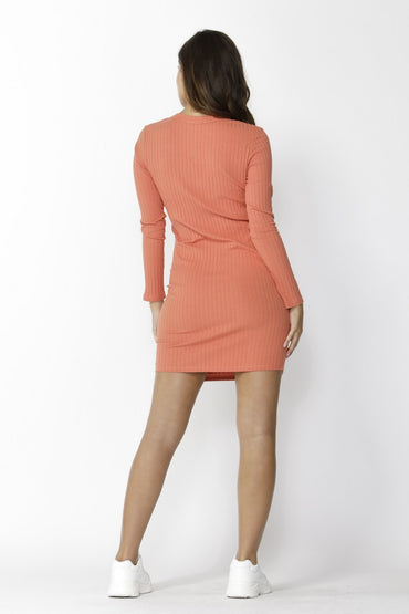 Sass Dream Chaser Button Dress in Amber - Hey Sara