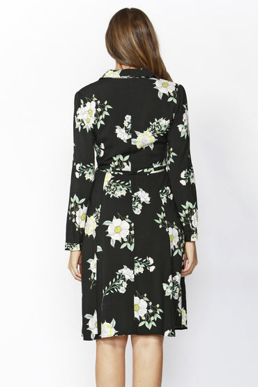 Sass Endless Love Midi Dress in Floral Print - Hey Sara