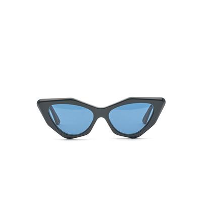MOOKHI BIO-ACETATE GLOSS BLACK | BLUE LENS