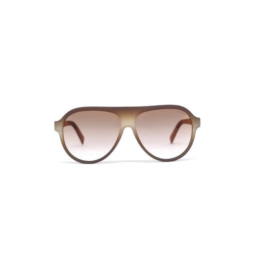 REED MATTE CREAM COLA | AMBER GRADIENT LENS