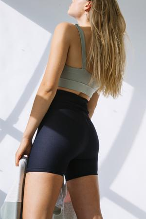PIPER BIKE SHORTS | BLACK RIB