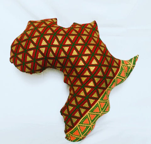 Lion of Judah; Passport to Africa Pillow