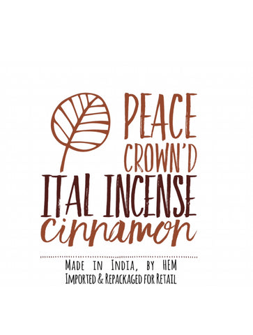 Ital Incense - Cinnamon