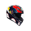 AGV K1 MULTI ECE DOT - PITLANE BLUE/RED/YELLOW - LRL Motors
