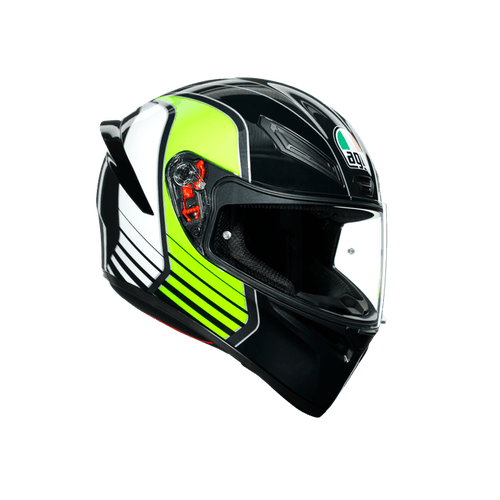 AGV K1 MULTI ECE DOT - POWER GREEN - LRL Motors