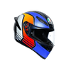 AGV K1 MULTI ECE DOT - POWER MATT DARK BLUE/ORANGE/WHITE - LRL Motors