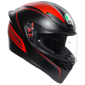 AGV K1 Warmup Matt Black Red Helmet - LRL Motors