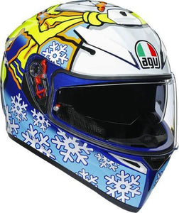 AGV K3-SV ROSSI Winter Test 2016 Helmet - LRL Motors