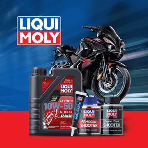 Bajaj RS200 engine oil performance pack - LRL Motors