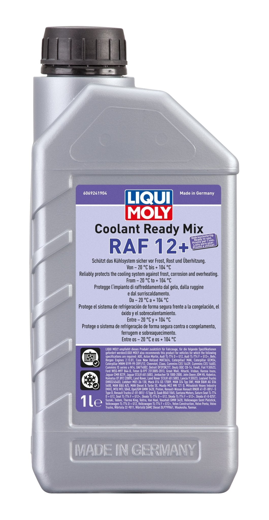 Coolant Ready Mix RAF 12+ 1 L - LRL Motors