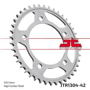 JT REAR SPROCKET JTR1304.42ZBK CBR 650F - LRL Motors