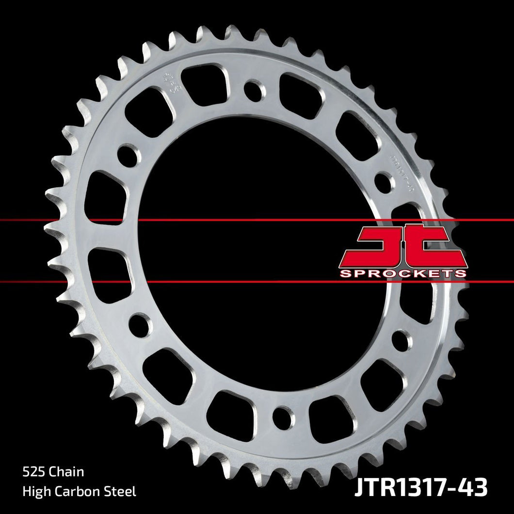 JT REAR SPROCKET JTR1317.43 CBR1000RR 17- 18 - LRL Motors